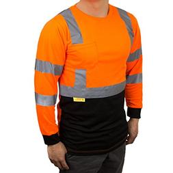 NY BFL8711 High-Visibility Class 3 T Shirt with Moisture Wic