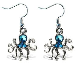 Puzzled Octopus New Zealand Paw Shell Fashionable Earing Jew