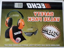 ECHO OEM Safety Value Pack Hearing Protection and Safety Gla