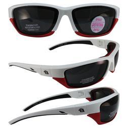 Birdz Eyewear Oriole-2 Padded Motocycle Riding Sunglasses Wh