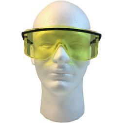 Uvex OTG'S Safety Glasses with Amber Lens - Over The Glasses