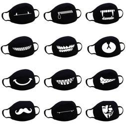 Outdoor Face Mask Mouth-muffle Respirator Anti Fog Flu Anti-