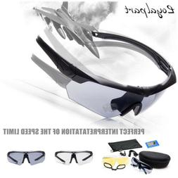 Outdoor Motorcycle Safety Glasses Shooting Goggle Polarized
