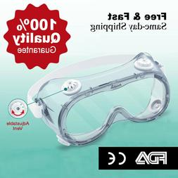 Outdoor Safety Goggles Splash Resistant Eye Protection Glass