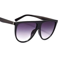 Oversized Sunglasses Women Luxury Sun Glasses Gradient Femal