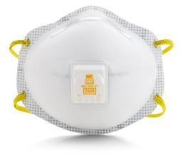 3M Particulate Respirator 8516, N95, with Nuisance Level Aci
