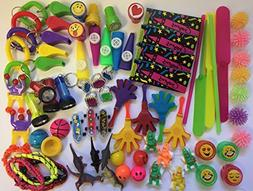 Party Favor Toy Assortment 120 pieces Small Prizes Ideal for