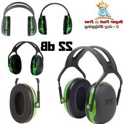 3M Peltor X-Series Over-the-Head Earmuffs, NRR 31 dB, One Si