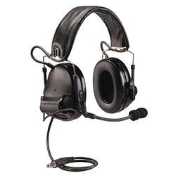 Peltor SWAT-TAC III ACH Single Comm Headset, Black