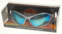 Harley-Davidson Personal Safety Wear Rugged Blue Mirror ANSI