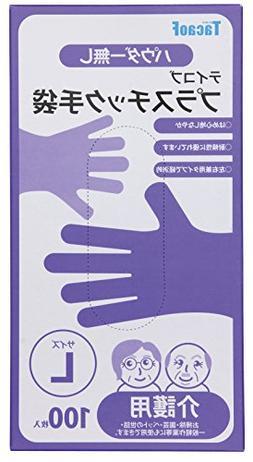 TacaoF Plastic gloves L  GL01L