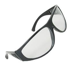 uxcell Plastic Industrial Rimmed Oval Lens Welding Goggle Pr