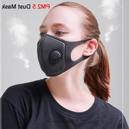 PM2.5 Washable Valved Dust Mask Respirator Reusable Anti Dus