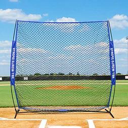 Fortress Pop-Up Baseball Screen – 7ft x 7ft Strong Portabl