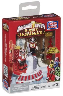 Mega Bloks Power Rangers Samurai Red Hero Pack