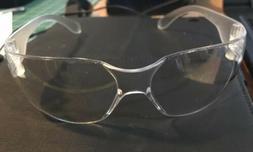 Pro-Safe Safety Glasses Construction NEW Black w/ Clear Scra