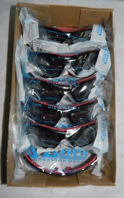 pro safe safety glasses silver mirror lens