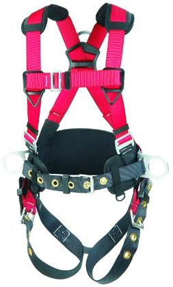 3M Protecta PRO, 1191209 Construction Harness, Back and Side