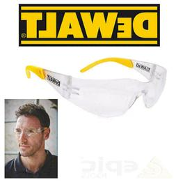 DeWalt Protector Clear UV Sun Protection Safety Glasses For