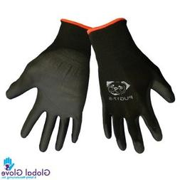 Global PUG Work Glove PUG17M Polyurethane/Nylon Glove, Work,