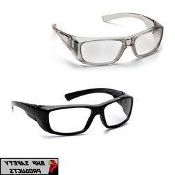 PYRAMEX EMERGE FULL MAGNIFYING READER SAFETY GLASSES GRAY OR