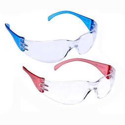 Pyramex Intruder Safety Glasses Colored Temples Each