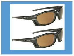 QTY = 2 HONEYWELL UVEX S2601HS Livewire™ Safety Glasses Bl