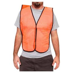 Rugged Blue RB Mesh Fabric Economy Non-ANSI Safety Vest, X-L