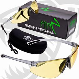 NEW! REACTOR - Photochromic Safety Glasses UV400 Z87.1 OSHA