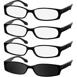 Reading Glasses 1.50 3 Black 1 Sun  F503 TruVision Readers
