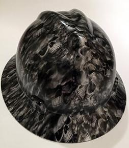 Armor Custom Hard Hats Reaper Black Full Brim Hard Hat