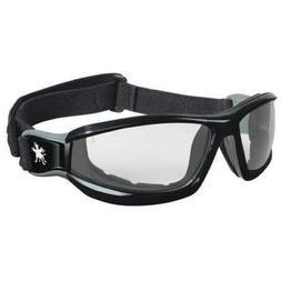 CrewsReaper Safety Glasses Black Frame Clear Lens--RP110AF