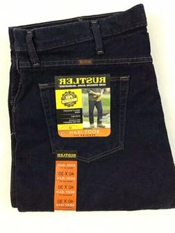 Rustler Regular Fit Boot Cut X-TRA Rugged Hard Working Jeans