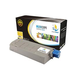 Catch Supplies Replacement 43866101 Yellow Laser Toner Cartr
