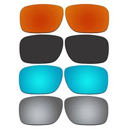 4 Pair Replacement Lenses for Oakley Holbrook Sunglasses Wit