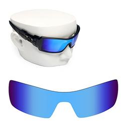 OOWLIT Replacement Sunglass Lenses for Oakley Oil Rig Blue M