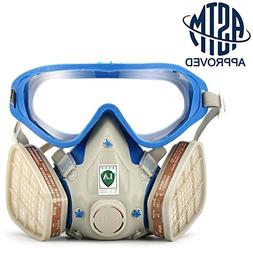 SanSiDo Respirator Gas Mask Safety Mask Comprehensive Cover