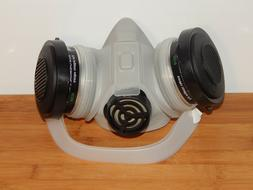 AO Safety Respirator Half Face Mask Medium R5700 Dual Cartri