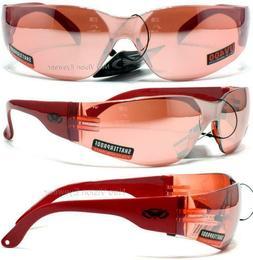 Global Vision Rider CF Color Frame/Lenses Safety Glasses Sun
