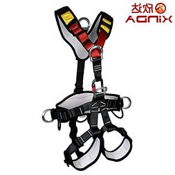 Outdoor Professional Rock Climbing Full Body Safety Belt Har