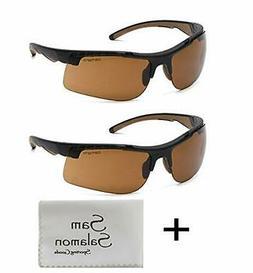 Carhartt Rockwood Safety Glasses, Sandstone Bronze Anti-Fog,