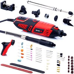 NoCry 10/125 Professional Rotary Tool Kit with Heavy Duty 17