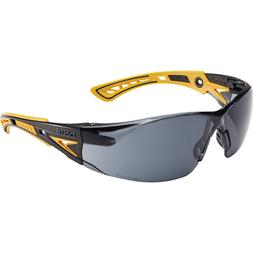 Bolle Rush Plus Small Safety Glasses | Black/Yellow Temples
