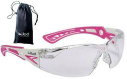 rush plus safety glasses clear