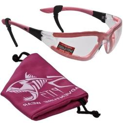 ruthless foam padded safety glasses