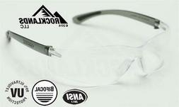 rx450 bifocal safety reading glasses clear lens