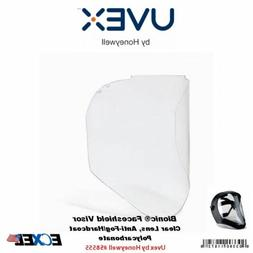 Uvex S8555 Bionic Shield Replacement Lens, Clear Polycarbona