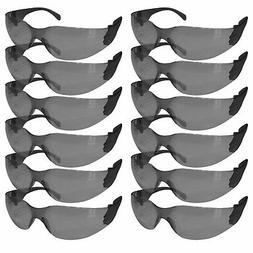 SAFE HANDLER Safety Glasses, Color Polycarbonate Lens - Blac