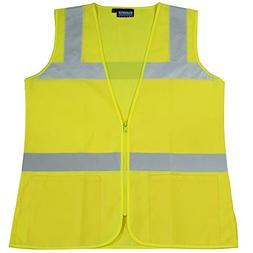ERB Safety Products 61916 S720 Class 2 Ladies Fitted Tricot,