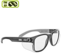 Safety Anti Fog Glasses Clear Bifocal Lens Pyramex Work Vari